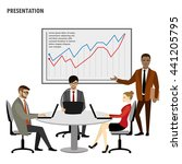business people group... | Shutterstock .eps vector #441205795