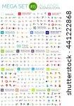 logo mega collection  abstract... | Shutterstock .eps vector #441222868