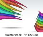 rainbow background for business ...