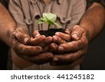 Dirty Hands Of A Farmer\'s...