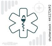 medicine  ambulance  icon | Shutterstock .eps vector #441272692