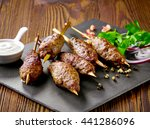 Grilled Minced Meat Skewers...