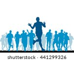 sport vector illustration | Shutterstock .eps vector #441299326