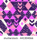cool sketched and textured geo... | Shutterstock .eps vector #441304066