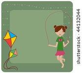 vector illustration of cool... | Shutterstock .eps vector #44132044