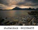 Rocky Coastline Of Loch Scavai...