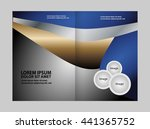 vector abstract template... | Shutterstock .eps vector #441365752