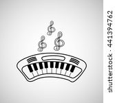 musical instrument  design    Shutterstock .eps vector #441394762