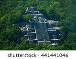 Campeche  Mexico  Ruins Of The...