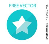 star free vector style flat