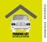 parking lot design  vector... | Shutterstock .eps vector #441520312