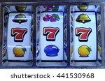 triple sevens jackpot on casino ...   Shutterstock . vector #441530968