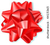 bow red | Shutterstock .eps vector #4415365