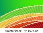 crazy green  yellow  orange and ... | Shutterstock .eps vector #44157652