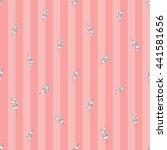 welcome baby girl decorative...   Shutterstock .eps vector #441581656