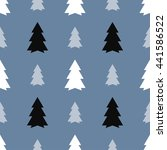 seamless pattern of christmas...   Shutterstock .eps vector #441586522