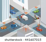 communication that connects... | Shutterstock .eps vector #441607015