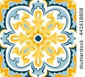 oriental traditional ornament ... | Shutterstock .eps vector #441618808