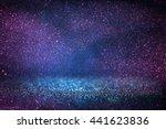 glitter vintage lights... | Shutterstock . vector #441623836