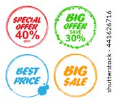 big sale  special offer  big... | Shutterstock . vector #441626716