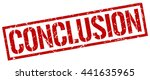 conclusion stamp.stamp.sign... | Shutterstock .eps vector #441635965