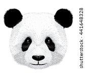 panda vector illustration | Shutterstock .eps vector #441648328