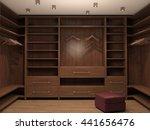 empty dressing room  interior... | Shutterstock . vector #441656476