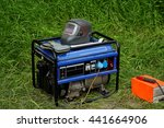 gasoline generator with... | Shutterstock . vector #441664906