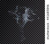 water splash transparent... | Shutterstock . vector #441685846