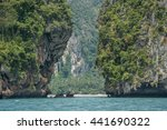 southern sea and islands in... | Shutterstock . vector #441690322