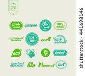 set of elements for design  ... | Shutterstock .eps vector #441698146