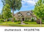 a perfect neighborhood. houses... | Shutterstock . vector #441698746