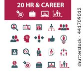 human resources icons  | Shutterstock .eps vector #441709012