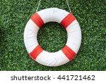 Safety Ring  Lifebuoy  Isolated ...