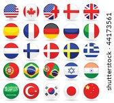 web language icon set   Shutterstock .eps vector #44173561