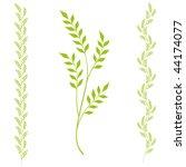 vector abstract floral design...   Shutterstock .eps vector #44174077