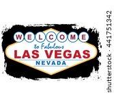las vegas city concept. logo.... | Shutterstock .eps vector #441751342