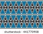 geometric ethnic  pattern... | Shutterstock .eps vector #441770908