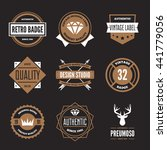 set of vector logotypes... | Shutterstock .eps vector #441779056