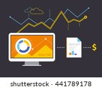 analytics for business | Shutterstock .eps vector #441789178