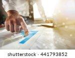 media. | Shutterstock . vector #441793852