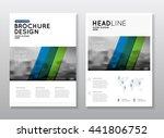 annual report vector... | Shutterstock .eps vector #441806752