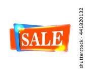 sale banner design for season... | Shutterstock .eps vector #441820132