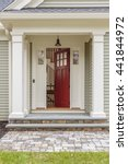 open front door. | Shutterstock . vector #441844972