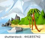 Low Poly Beautiful Landscape...
