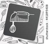 doodle mixer | Shutterstock .eps vector #441895408