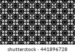 black and white elements and... | Shutterstock . vector #441896728