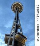 seattle  washington  usa   june ... | Shutterstock . vector #441910852