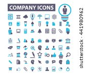 company icons | Shutterstock .eps vector #441980962