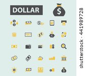 dollar icons | Shutterstock .eps vector #441989728